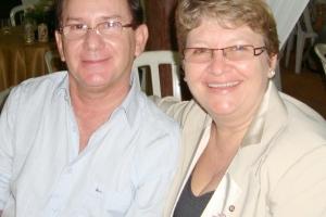 Casal amigo, Professora Beloni e Eng. Humberto Ceretta