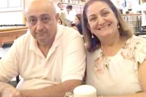 Aldira Garcia de Oliveira e Davi de Oliveira