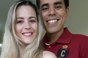 Victor Arlindo e Vanessa Gama