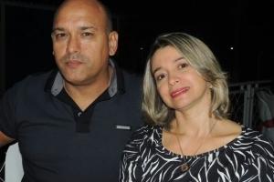 Cel Gilvan Augusto de Farias Júnior e sua esposa, Tânia Claudett Schupp