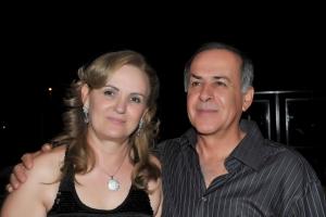 Casal de empresários Valdecir Luiz Ferrari e Sônia Ferrari