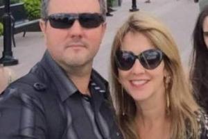 Dr. Edmar Rodrigues de Souza Júnior e sua esposa Márcia Helena Leonel