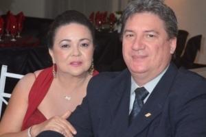 João Manoel Gehn e sua esposa, Professora Maria Lucilene Gehn