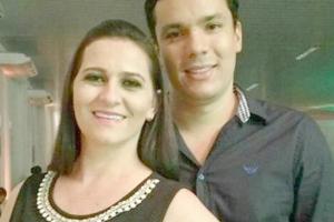 Márcia Bartocz e Carlos Virgilio