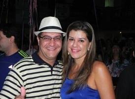 Cleber Fabiano e Karina Rodrigues Gomes