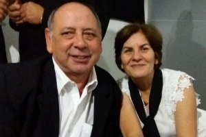 Gisele Balaiardi e Geraldo Galvão