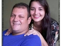 Leiliane Roos e Odilon Fonseca