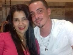 Roziane Pereira Mendes e Vinicius Martinelli