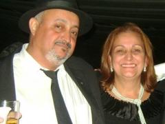 Professora Aldira de Oliveira e Davi