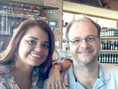 Dra. Denise Gomes Teixeira e Dr. Clodoaldo