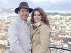 Empresário José Lúcio Vieira Dias com sua esposa Rachel Magalhães Dias