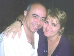 Advogado Paschoal Lopes Bento e sua esposa Joice