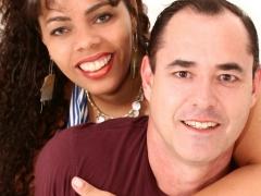 Casal de empresários, Gleyce Mara e Eduardo Cossi