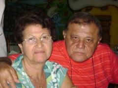 Professora Maria Celeste e seu esposo advogado e Delegado Classe Especial