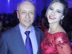 Doutora Simone Carneiro Dallabrida e seu pai Jovelino Dallabrida