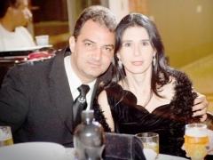Dr. Clerismar Ferreira de Oliveira (Advogado) e Dr.ª Silvia Raquel P. de melo (Odontóloga)