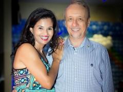 Jovelino Dallabrida e Profa. Edmara Dallabrida