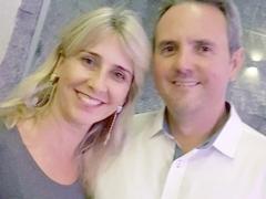 Edmar Rodrigues Júnior e Márcia Helena