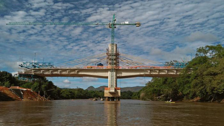 Obras das pontes do anel viário avançam; previsão de conclusão é para 2018