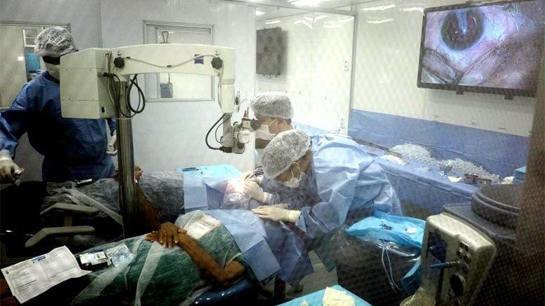 BAIXO ARAGUAIA – Mais de 300 cirurgias de catarata são realizadas no terceiro dia de Caravana