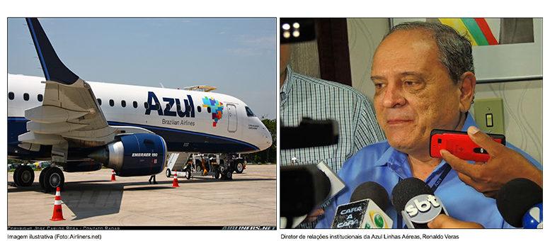 Azul anuncia voo de Barra para Goiânia