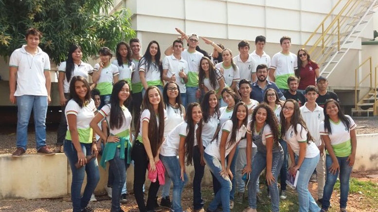 Estudantes do IFMT conhecem Estação de Tratamento de Água de Confresa