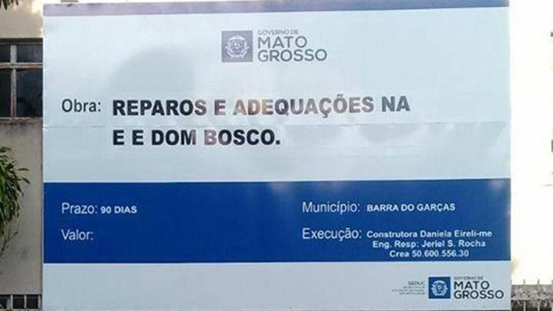 BARRA DO GARÇAS – Dom Bosco sediará a Escola Tiradentes