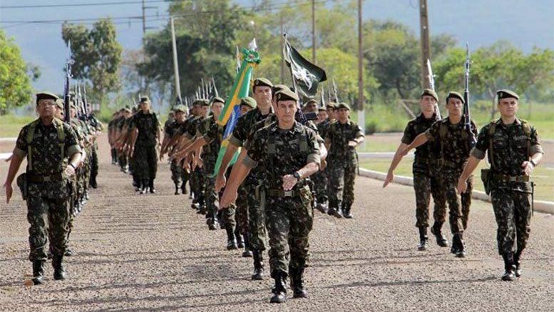 58º Batalhão de Infantaria Motorizado (CMO) – Formatura Dia do Exército