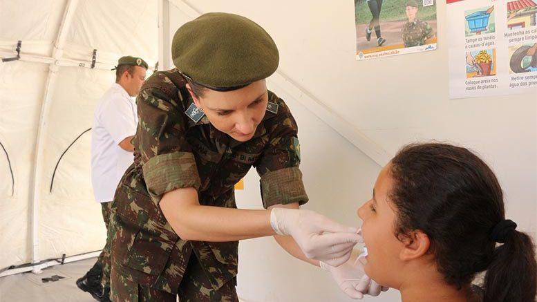 58º Batalhão de Infantaria Motorizado (CMO) – Ação Cívico Social realizada em Barra do Garças-MT