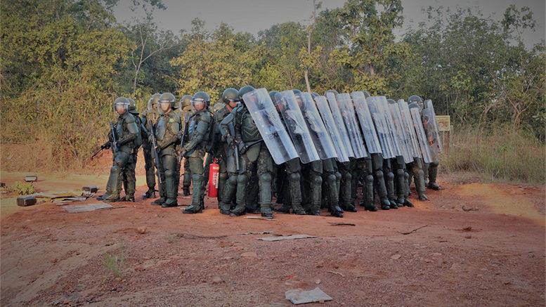 58º Batalhão de Infantaria Motorizado (CMO) –  Operação Abafa