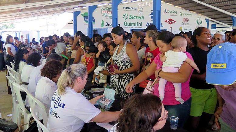 Pró-família chega ao 55° município durante Caravana da Transformação