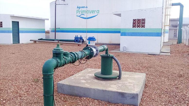 Novo poço reforça sistema de abastecimento de água em Primavera do Leste