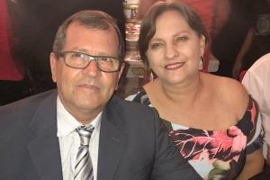 Dr Darley Chaves  sua esposa Liane Roseni