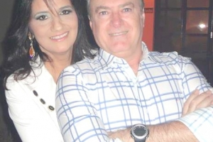 Carlos Noleto (Centrolex Contabilidade) e Jaciara Noleto
