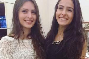 Acadêmicas em Medicina, Izabella e Rafaella Scalabrini Ferrari