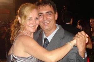 Engenheiro Civil David Lincoln de Campos e sua esposa jornalista e advogada Sirley Campos