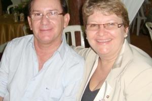 Engenheiro Civil Humberto Ceretta e Professora Beloni Ceretta