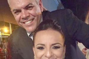 Auxiliadora Martins Gideão e Dr Hilmar Dantas Reis