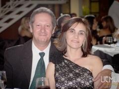 Maria Angélica e Luiz Carlos Cordeiro