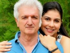 Empresário Wanderlei Farias Santos e sua esposa, Dra. Laura Beatriz