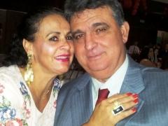 Marlene Souza Silva e Dr. Aridaque Luís Neto