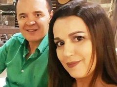Rogério Mendonça  e Claudia