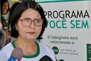Fisioterapeuta, Dra. Suely Maria de Matos Nascimento
