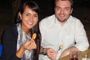 Casal amigo e advogados, Vilma Elisa Matos Nascimento e Paulo Henrique da Silva Magri