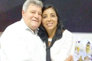 Maria Auxiliadora (Dora) e seu esposo, eng° Luiz Alberto Victor de Matos