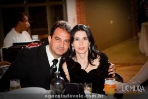 Fisioterapeuta Clerismar Ferreira e Dra. Sílvia Raquel Pinheiro de Melo