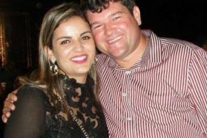 Isabella Mendonça e ex-prefeito Leonardo Farias