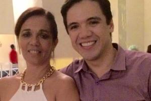 Advogada Ada Pereira da Silva e eu filho Rafael Pereira
