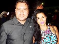 Vander Lima e sua esposa Joyce