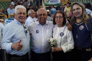 com os pais do governador Zé Éliton
